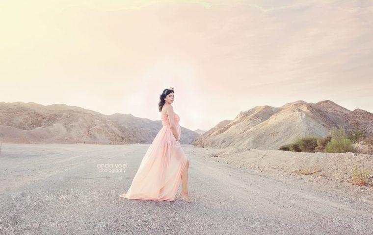 צילומי הריון במדבר בהרי אילת