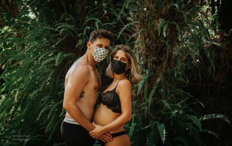 צילומי הריון בטבע בזמן קורונה