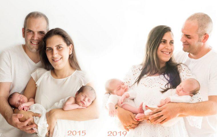 משפחה עם 2 זוגות תאומים – משפחת פולישוק